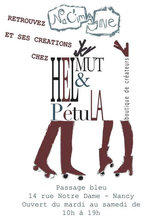NaC'imagINE et Helmut et Pétula