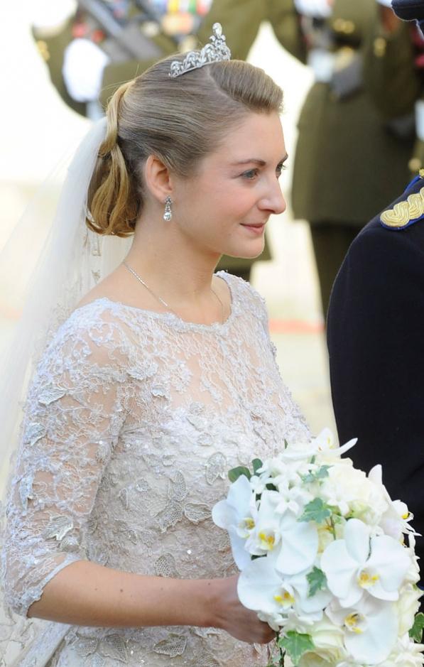 Stéphanie en mariée
