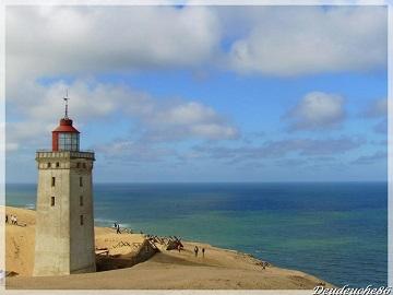 Sauvetage d'un phare au Danemark ...