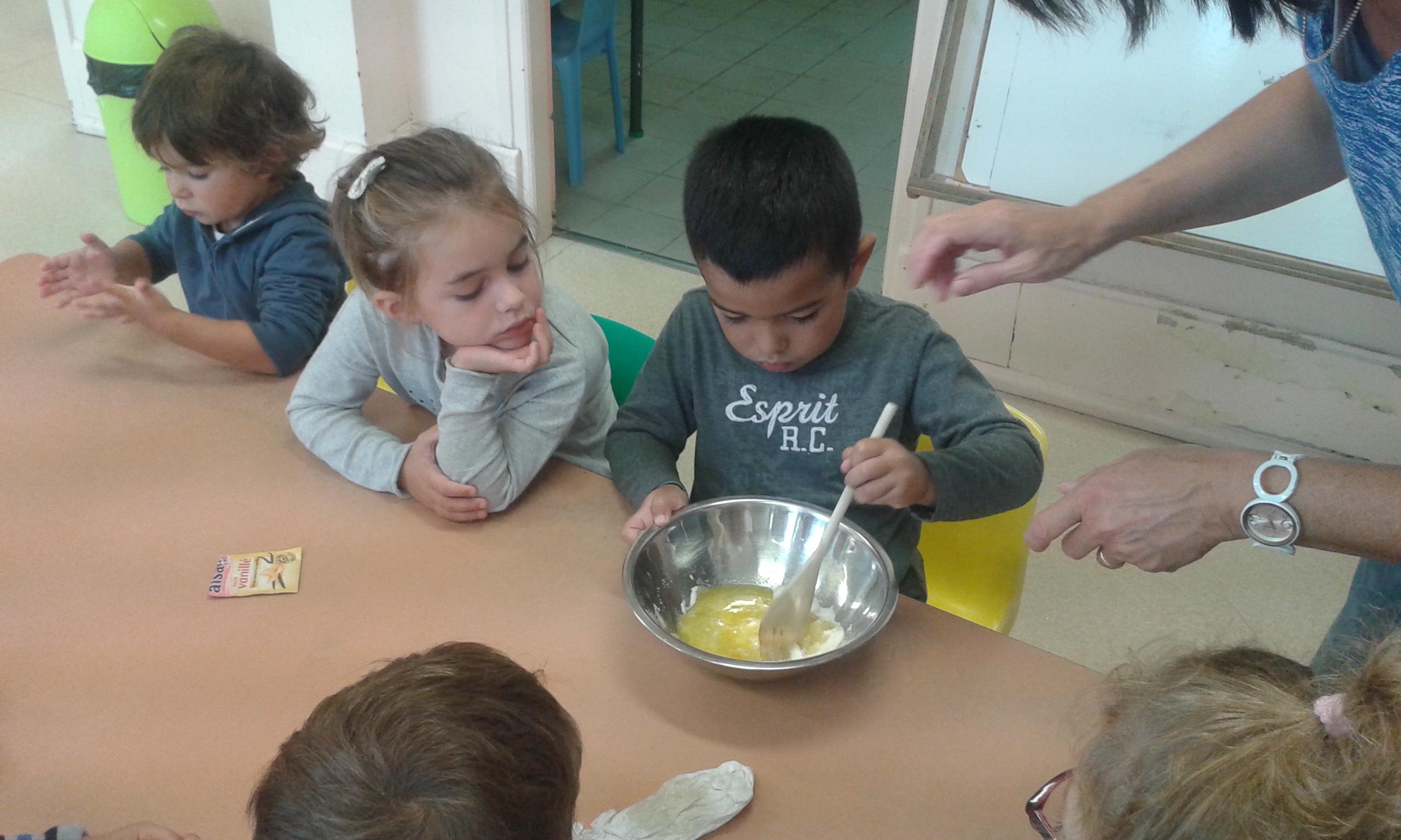 Atelier cuisine en maternelle ecole de yolet - Atelier cuisine maternelle ...
