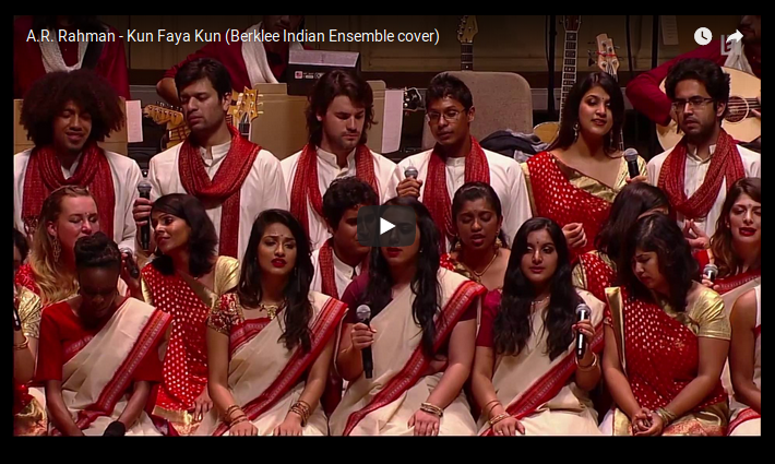 "LE "" BERKLEE INDIAN ENSEMBLE "" DE BOSTON INTERPRÈTE avec ferveur & dévotion LES COMPOSITIONS D'A.R. RAHMAN"