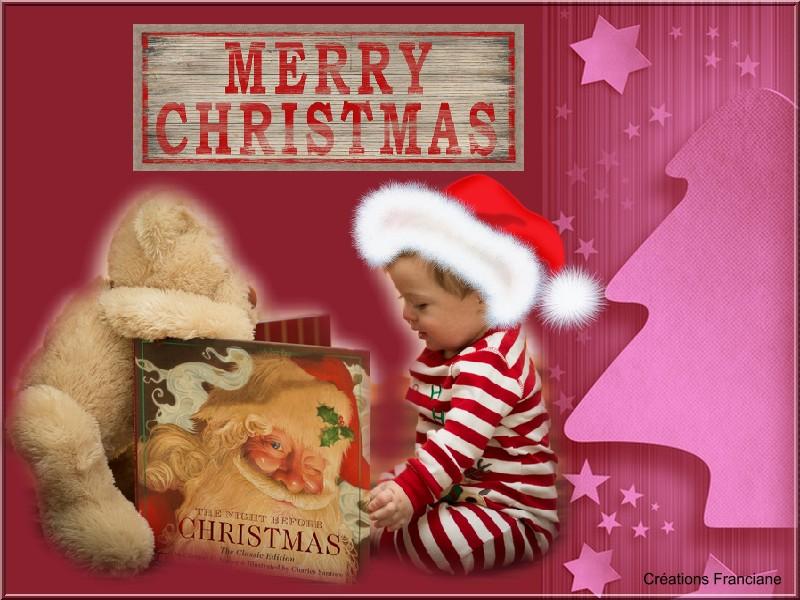 Un très bon week-end avec des créations pour Noel et les fêtes