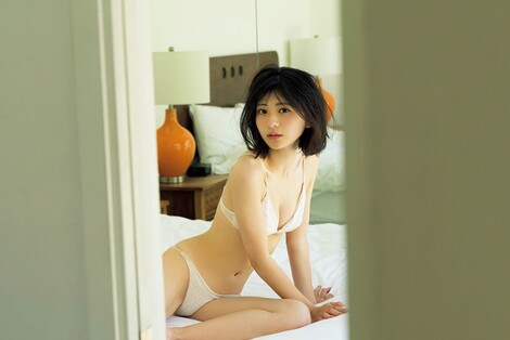 WEB Magazine : ( [FRIDAY Digital - Gravure] - |FRIDAY - 20/12/2019 - Minami Yamada : 山田南実 『制コレ18』準グランプリ ランジェリー姿を初公開!| )