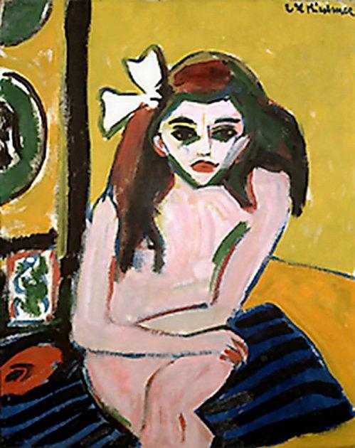 Ernst Ludwig Kirchner, Artiste - Marzella - 1910
