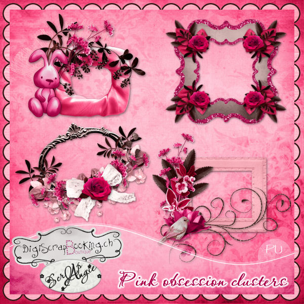 """Pink obsession"" de Scrap'Angie"