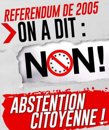 L'abstention citoyenne de masse, c'est bon pour l'action de classe ! -par Georges GASTAUD & Fadi KASSEM