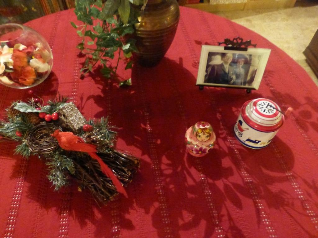 Mes décorations de Noël et quelques gâteries
