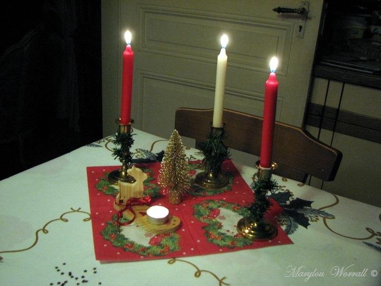 Noël en Alsace : Les trois bougies