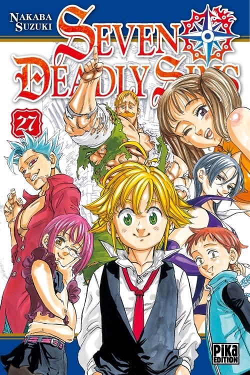 Seven deadly sins - Tome 27 - Nakaba Suzuki