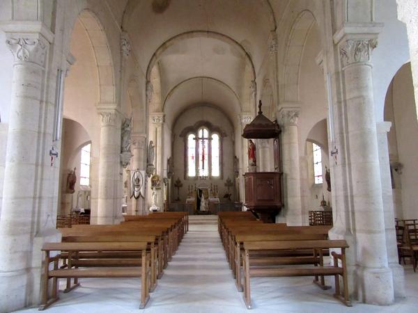 L'église Saint-Roch de Larrey