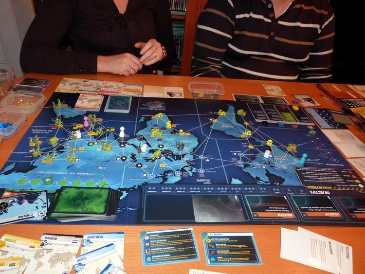 Pandémie Legacy (août 2)