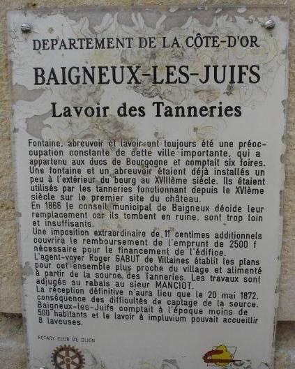 Lavoir de Baigneux