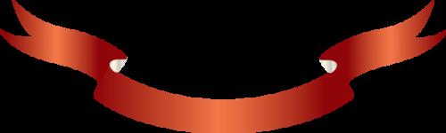 RUBANS  (en PNG)