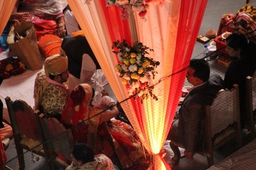 Un mariage en Inde