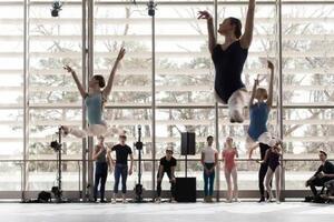 dance ballet class auditorium