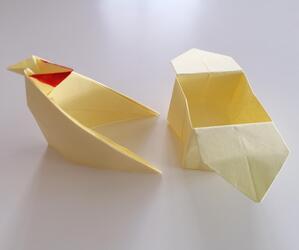 Tuto : Des poulettes en papier