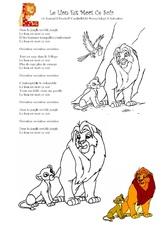 Chant : Le lion est mort ce soir