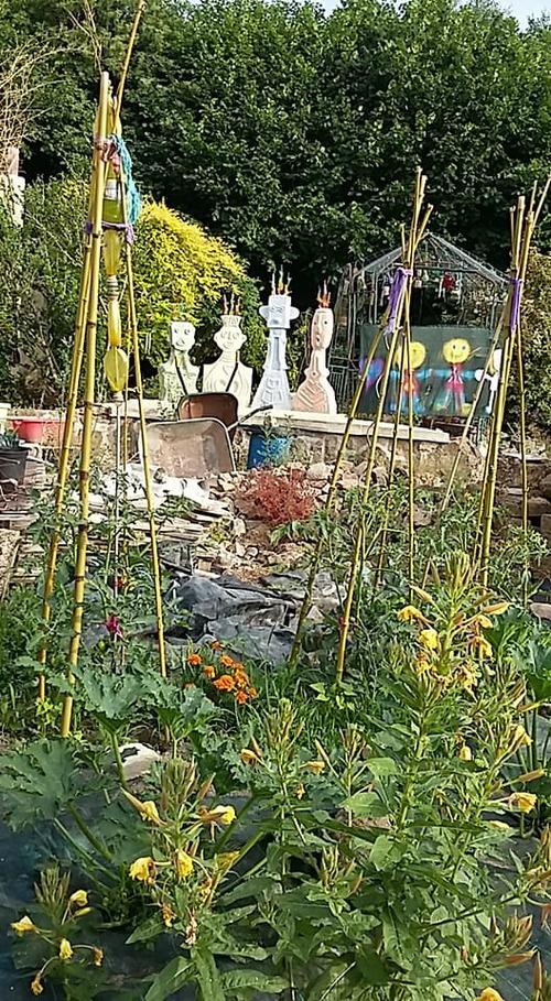 Sculptures de jardin