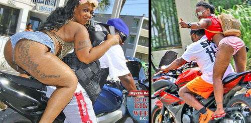 Black Bike Week : la suite en 'couleur'