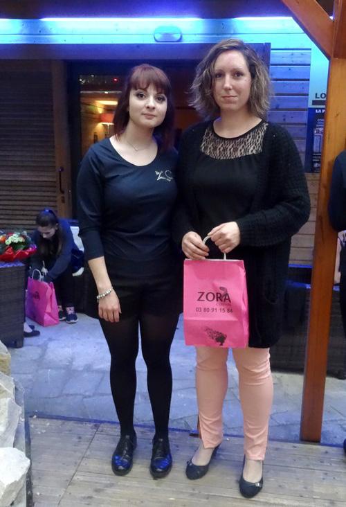 Zora-Coiffure a récompensé ses fidèles clientes...