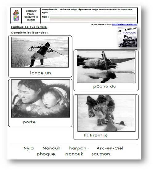 Nanouk l'esquimau - Exploitation et pistes pédagogiques