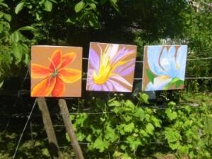Expo de peinture, Jardin sensoriel STRASBOURG Mai 2010 021