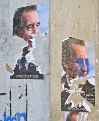 affiche élection présidentielle Bayrou 6802