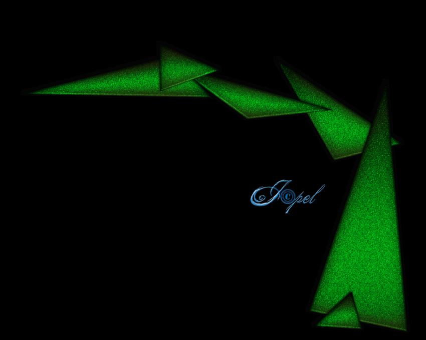 Clusters triangles brillants