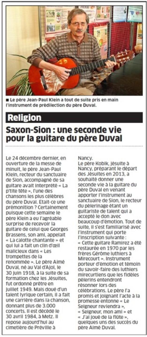 guitare Père Duval