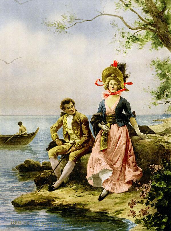 Peinture de :Marie-Félix-Hippolyte Lucas