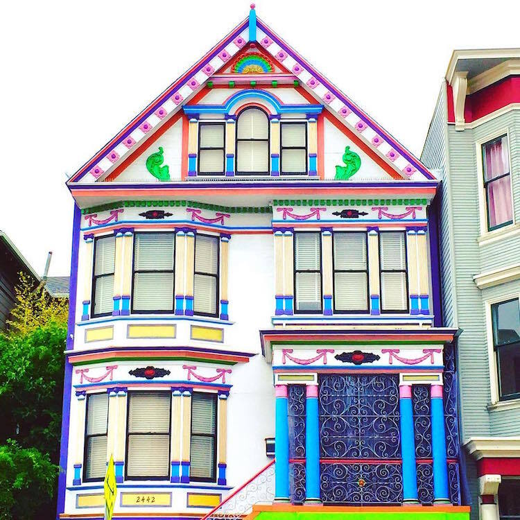 Les-maisons-en-couleurs-de-San-Francisco-18 Les maisons en couleurs de San Francisco