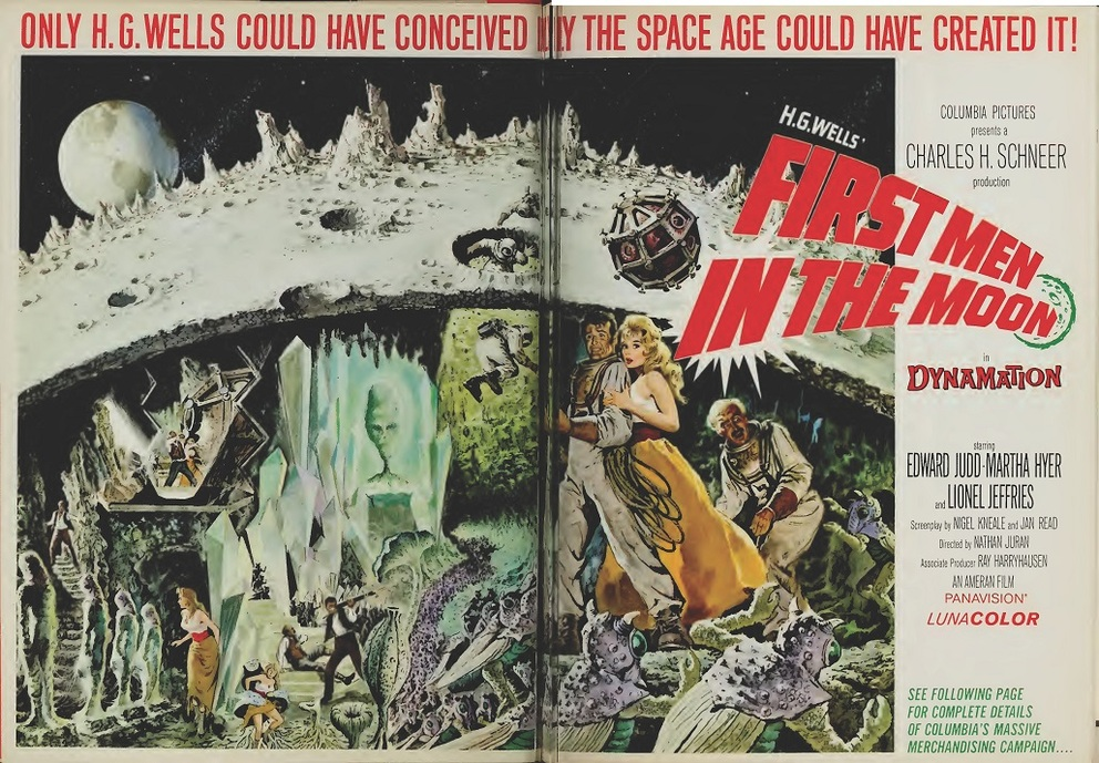 FIRST MEN IN THE MOON BOX OFFICE USA 1964