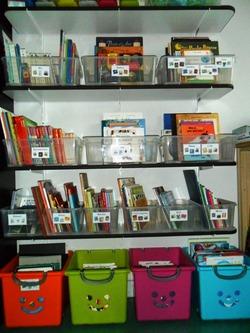 Etiquettes pour la bibliothèque de classe