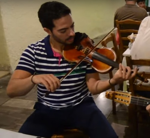 Manos Skalidakis, violoniste * Μάνος Σκαλιδάκης