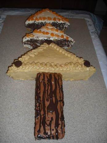 Blog de chacha : Les desserts de Chacha, Sapin de Noël