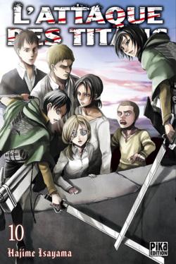 Chronique L'Attaque des Titans - tome 10