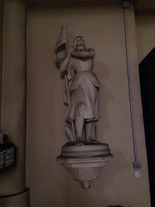 Jeanne d'Arc à Moustey