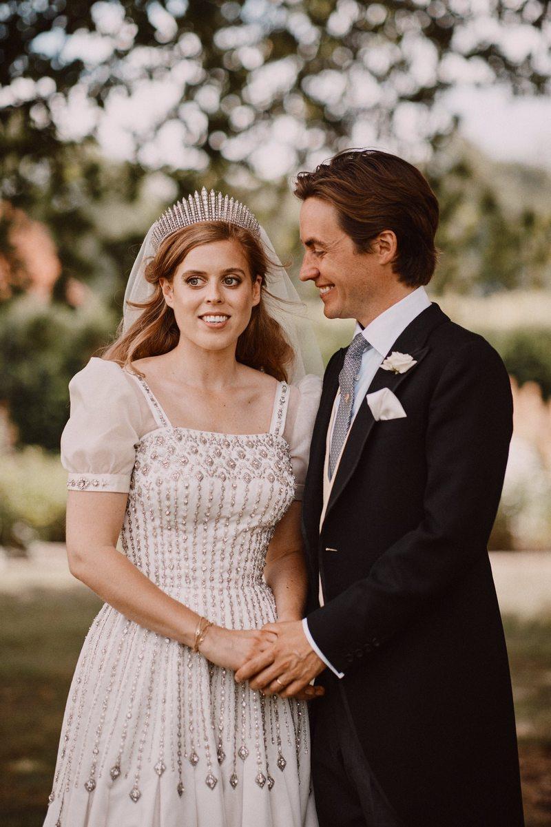Nouvelles photos du mariage de Beatrice et Edo