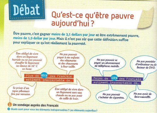 Dossier: la pauvreté en France