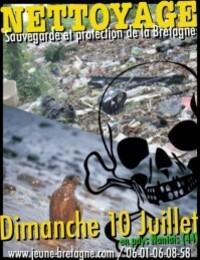 Jeune Bretagne operation nettoyage