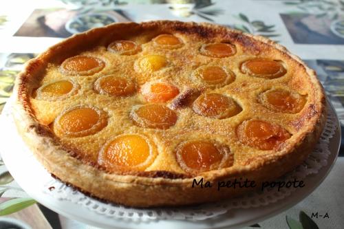 Tarte aux abricots à l'Alsacienne