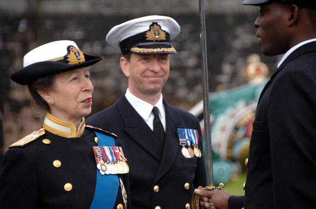 Anne et la Navy