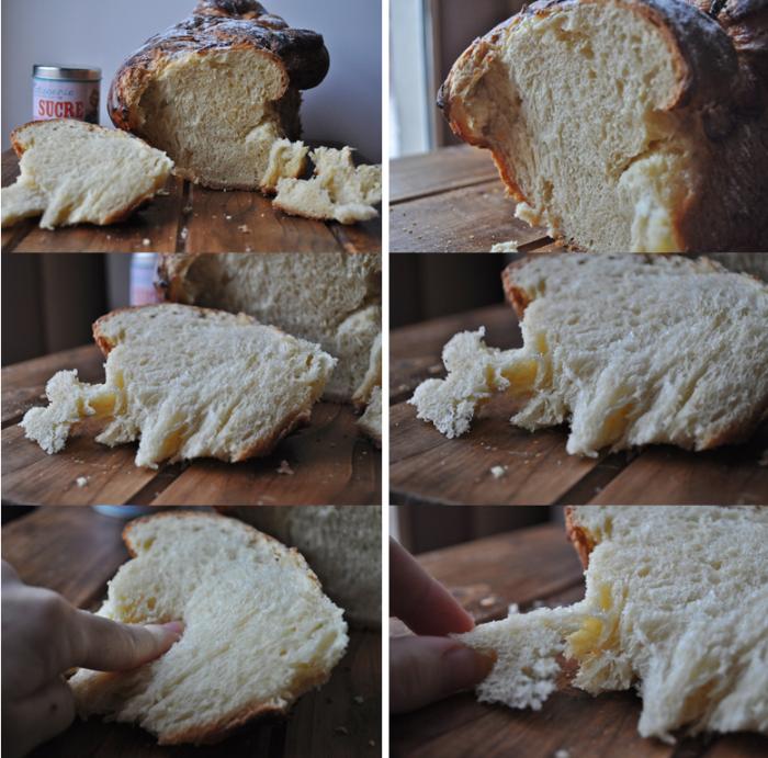 Brioche au fromage blanc à la vanille