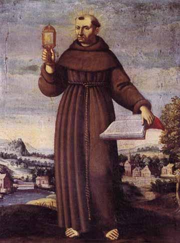 Saint Jacques de la Marche. Frère mineur à Naples († 1476)