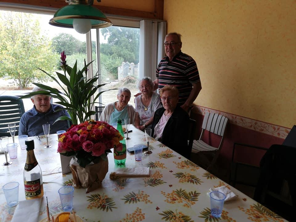 journée Anniversaire de ma tante 90 ans
