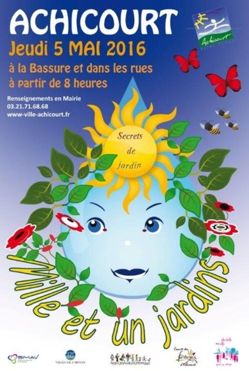 La fête des mille et un jardins à Achicourt avec son énorme brocante