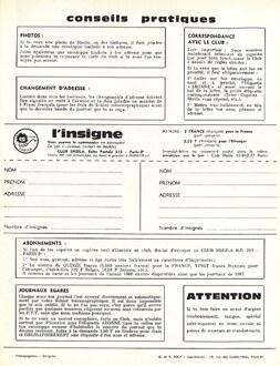 JOURNAL N°23 août-septembre-octobre 1966