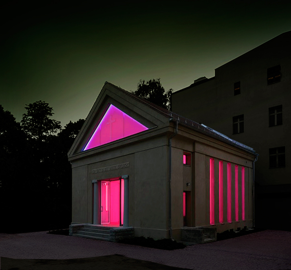 LIEUX CULTES–LIEUX ARTS, Turrell James chapelle,Berlin,Point-to-point-Studio