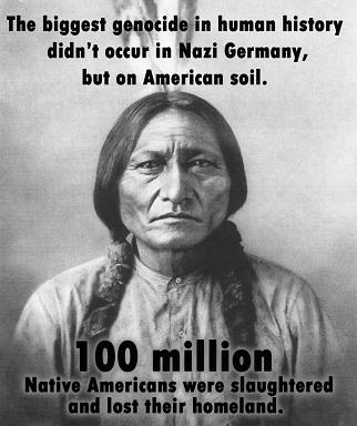 Le plus grand génocide du monde ...