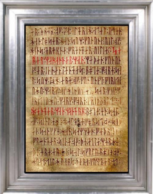 Futhark, Runes et Magie